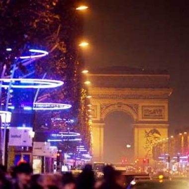 Illuminations des Champs Elysées