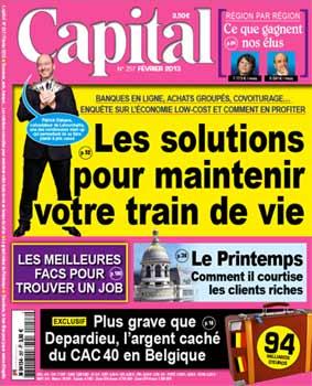 Capital Magazine Février 2013