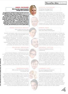 Capital Magazine Nouvelles Têtes