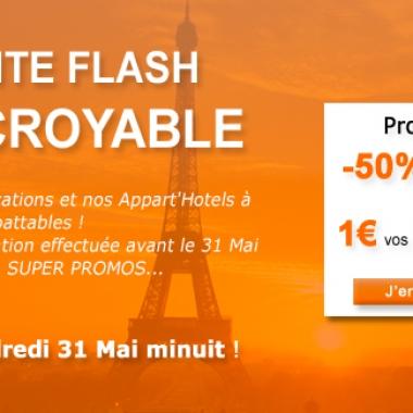 Vente Flash jusqu'au 31 Mai 2013