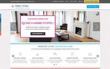 Nouveau site 1000et1Paris.com